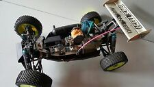 Vintage Mugen Seiki SUPER SPORT 1:8 Scale 4x4 Race Buggy/Motor Pipe & radio gear