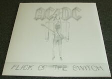 AC/DC-FLICK OF THE SWITCH-2003 180g VINYL REMASTERED LP/EMBOSSED-NEW & SEALED