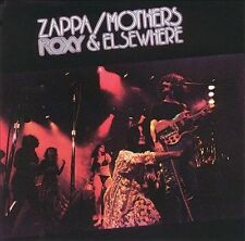 Roxy & Elsewhere by Frank Zappa/The Mothers of Invention (CD, May-1995, Ryko...