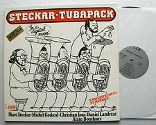 STECKAR-TUBAPACK In a digital mood FRENCH jazz LP Disques JAM (1981) NMINT/EX