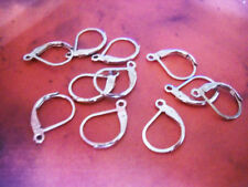 BULK Lever Back Ear Wires Silver Earrings Wires Leverback Ear Wires 50 pieces