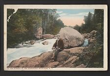 Hunter on the Runway in the ADIRONDACK MOUNTAINS NEW YORK NY POSTCARD Stream