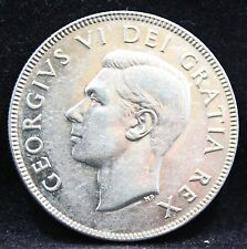 CANADA 1952  50 CENTS COIN  DESING 52  UNC SILVER