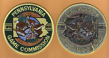 Pa Pennsylvania Game Commission Black Back Branch Version 1995 Centennial Patch