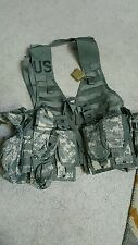 MOLLE II FIGHTING LOAD CARRIER VEST and ACU Body Armor with Soft Inserts Large