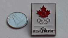 Canada Canadian Reno Depot Olympics Flame Sports Lapel Hat Pin Epinglette