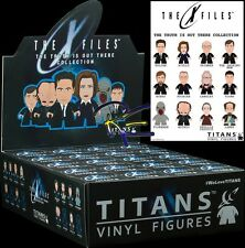Titan X-Files Titans Truth is Out There Figure Collection Display Case of 20 New