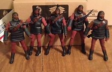 Lot of 5 vintage Planet of the Apes MEGO Soldier Ape action figures POTA loose