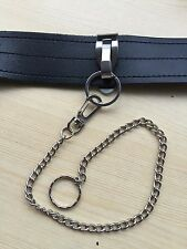 "Ex Police Metal Belt Clip And Key Chain For 2"" Kit Belt Or Smaller."