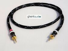 D11(0.3m 1ft)---3.5mm Jack HIFI TRS(male) AUX Stereo Canare L-4E6S Audio Cable