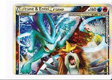 Cartes pokemon: suicune & entei légende 94/95 gem mint