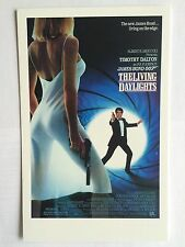 CARTE POSTALE JAMES BOND DE L'AFFICHE THE LIVING DAYLIGHTS POSTCARD POSTKARTE