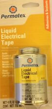 Liquid Electrical Tape Black Brush PERMATEX 85120 NEW STOCK made in USA