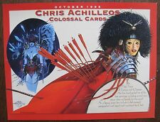 Chris Achilleos Colossal Cards 1995 Trading Cards Sell Sheet (no cards)