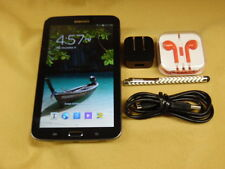 Samsung Galaxy Tab 3 8 GB SM-T210R - Black - with extras - Great Condition