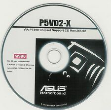 ASUS P5VD2-X Motherboard Drivers Installation Disk M996