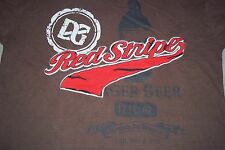 Red Stripe Lager Beer Brewed in Jamaica Embroidred T-Shirt Mens Womens Large