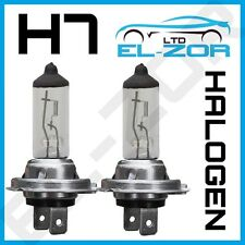 H7 HALOGEN 55W BULBS 12V DIPPED BEAM HEADLIGHT HEADLAMP CLEAR LIGHT LAMP 499 X 2
