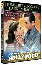 TO HAVE AND NOT + THE BIG SLEEP **Dvd R2** HUMPHREY BOGART LAUREN BACALL
