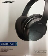 Bose SoundTrue II Headphones Apple - Charcoal Black