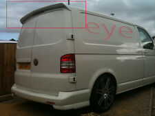 VW T5 TRANSPORTER CARAVELLE MULTIVAN BARN DOORS REAR ROOF SPOILER