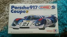 Mitsuwa 1/28 Porsche 917 Coupe Le Mans Motorized Kit Great Condition Super Rare