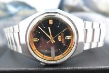 Classic Black Dial 37mm SS Seiko 5 7009 8440 Day/ Date Automatic