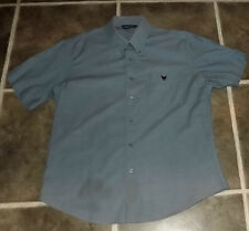 "MENS LARGE HUNTER SCOTT COTTON BLEND SHORT SLEEVE SHIRT CHEST 40"" 102cm"
