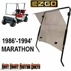 EZGO Marathon 1986'-1994' Golf Cart Fold Down Windshield TINTED
