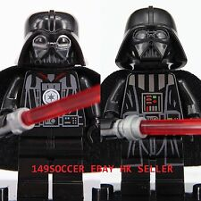 2pcs Star Wars Mini Figures Darth Vader Custom Lego  Super Hero