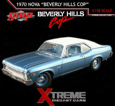 GMP 18802 1:18 1970 CHEVROLET NOVA 1984 BEVERLY HILLS COP MOVIE EDDIE MURPHY