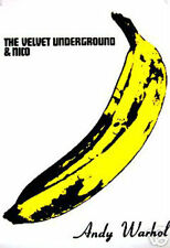 "ANDY WARHOL -  THE VELVET UNDERGROUND AND NICO POSTER  -  LARGE 24"" X 36"" - NEW"