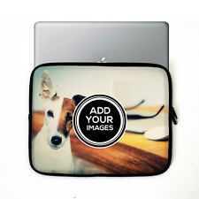 "Personalised 16"" Laptop or Tablet Case - Add any image - photo - text"