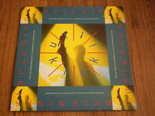 "SIMPLE MINDS - KICK IT IN 12"" A1 B1 1989 VIRGIN INCLUDES POSTER EX"