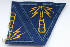 2ww  british made one and half usaaf specialist  communications patch [ A]