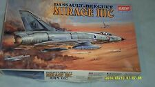 1984 ISSUE, 1/48 ACADEMY DASSAULT-BREGUET MIRAGE 111C, KIT NO. 1622