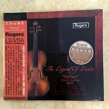 Rogers LS3/5A The Legend Of Violin 不朽的傳奇 CD  Made in Germany  ABC SHOWCAS
