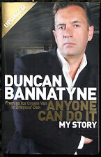 DUNCAN BANNATYNE signed autobiography 'Anyone Can Do It' PB - Genuine Autograph
