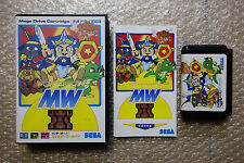"Wonderboy V Monsterworld III ""Very Good Condition"" Sega Megadrive Japan"