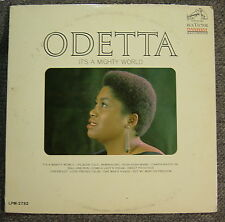 ODETTA: It's A Mighty World (RCA Victor DYNAGROOVE) LPM-2792 MONO (1964)
