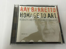 Homage to Art 2003 CD by Ray Barretto 0806417101022