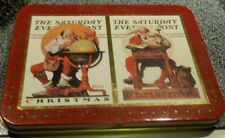 The Saturday Evening Post Christmas Playing Cards 1996 New Mint Condition