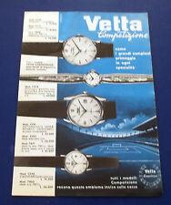 A618-Advertising Pubblicità-1960-VETTA COMPETIZIONE - OROLOGI
