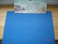 NON SLIP MAT FOR KITCHENS AND BATHROOMS ETC 30 CM X 50 CMS (BLUE)