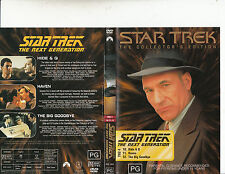 Star Trek:The Next Generation:TNG 4-1987/94-TV Series USA-3 Episodes-DVD