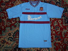 West Ham United 2001/03 FILA S AWAY 28 Dr. MARTENS shirt jersey 01
