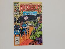 The Avengers #259 Marvel 1985 Captain America Copper Age Comic Book VG/FN