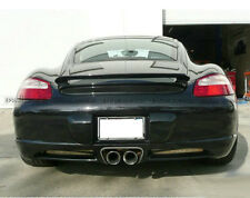 A++ Rear Trunk Spoiler Wing For Porsche 987 Boxster Techart Wings Carbon Fiber