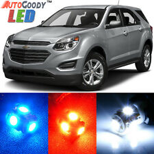 13 x Premium Xenon White LED Lights Interior Package Upgrade for Chevy Equinox