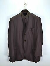 Brioni Palatino 100% PURE CASHMERE Brown Blazer Sport Coat Jacket 60IT 50US
